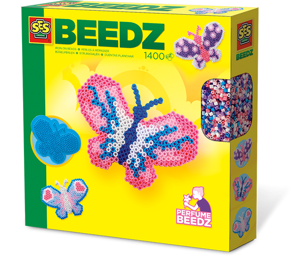 SES, Iron-on beads butterfly - Ages 5 to 12