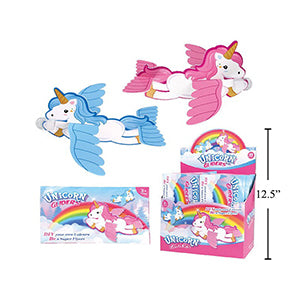 Unicorn Gliders, Printed Envelope,