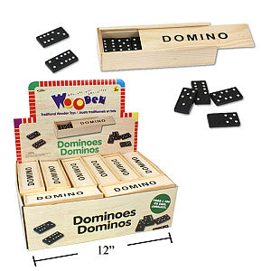 Wdn. Dominoes, shrink wrap, 24/dsp