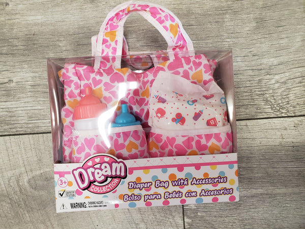 Dream Collection Diaper Bag with Accessories