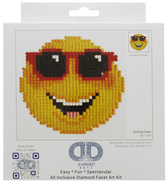 Diamond Dotz Smiling Face Beginner Kit