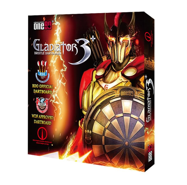 One80 Gladiator 3 Plus Premium Dartboard