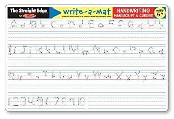 Handwriting Write-A-Mat