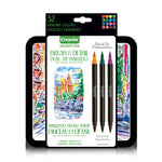 Crayola Signature 16ct (32 Colours) Brush & Detail Dual-Tip Markers