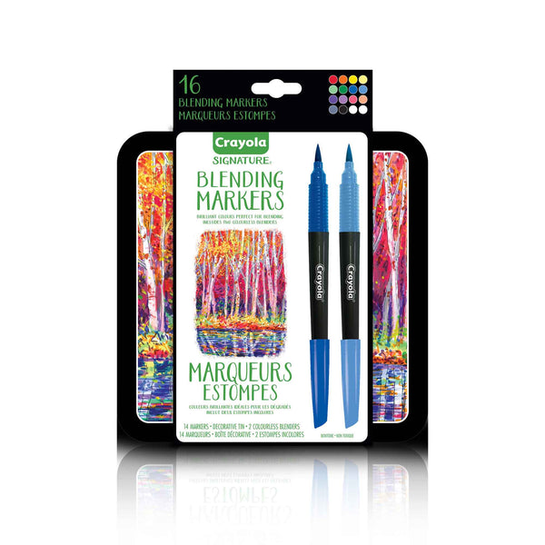 Crayola Signature 16 ct Blending Markers