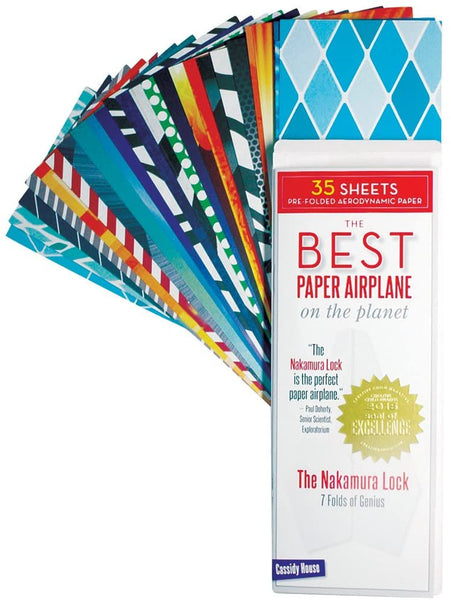 The Best Paper Airplane in the World