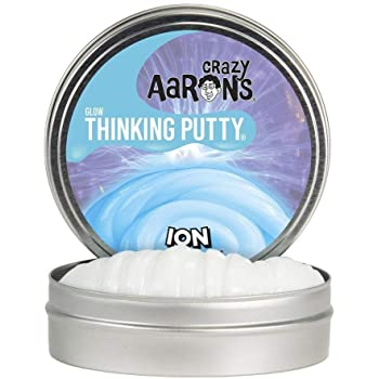 "Aaron's Thinking Putty ION Glow in the Dark 4"" Tin"