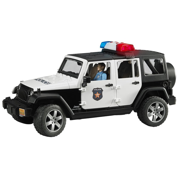 Jeep Rubicon Police car + Policeman