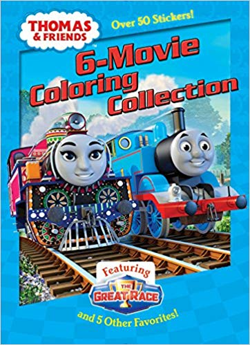 THOMAS 6-MOVIE COLORING
