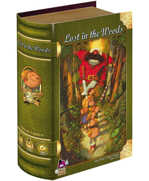 Lost in the Woods board game