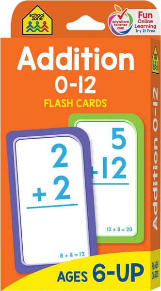 FLASH CARDS - ADDITION