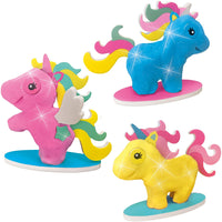 SES, Super clay - Unicorn Glitter Clay - Ages 3 to 8