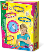 French knitting elastic bracelets - Ages 5 to 12