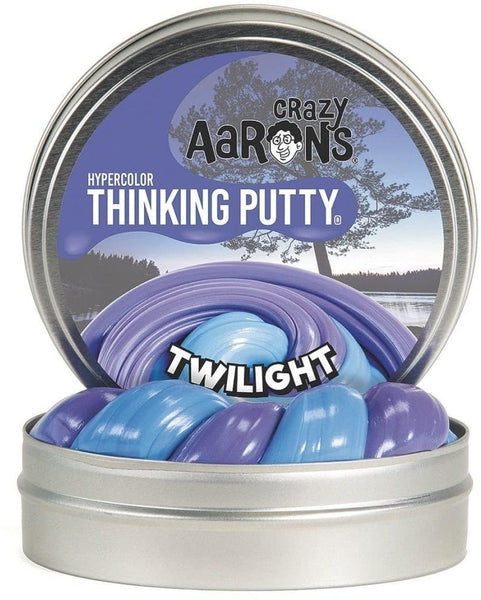 "Aaron's Thinking Putty Twilight Hypercolour - 4"" Tin"