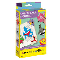 Corner Creature Bookmarks - Ages 7 to 13