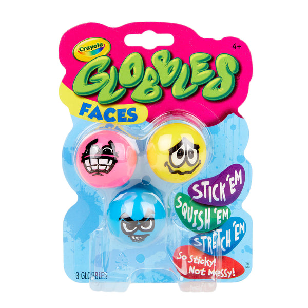 NEW! Crayola Globbles - Faces!