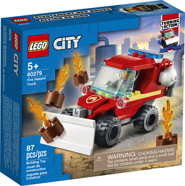 LEGO City - Fire Hazard Truck 60279