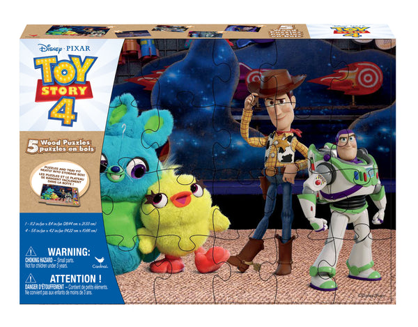 Wood Puzzle 5-in-1 - Toy Story 4