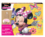 Wood Puzzle 5-in-1 - Minnie