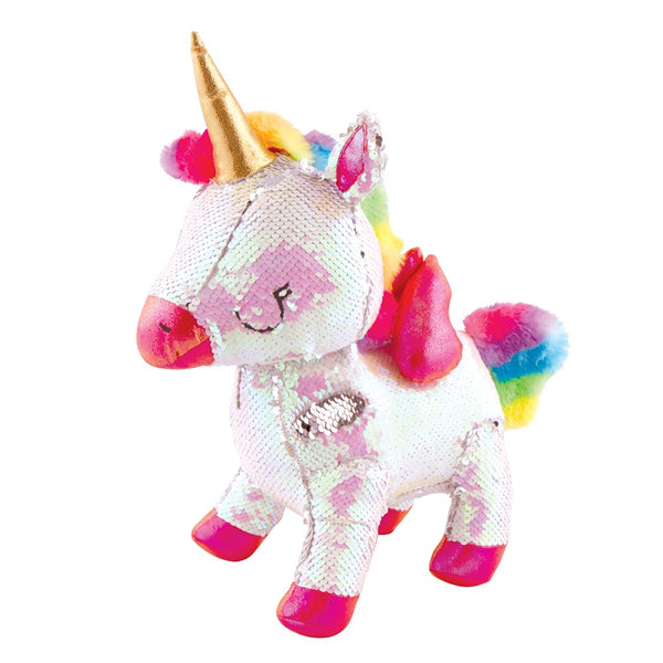 Magic Sequin Plush-The 3D Unicorn