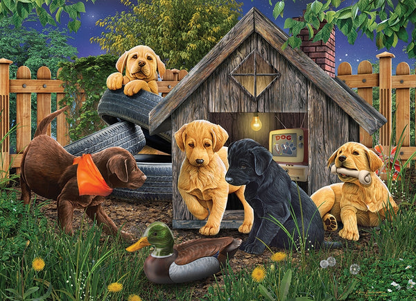 1000pc Puzzle Cobble Hill - In the Doghouse