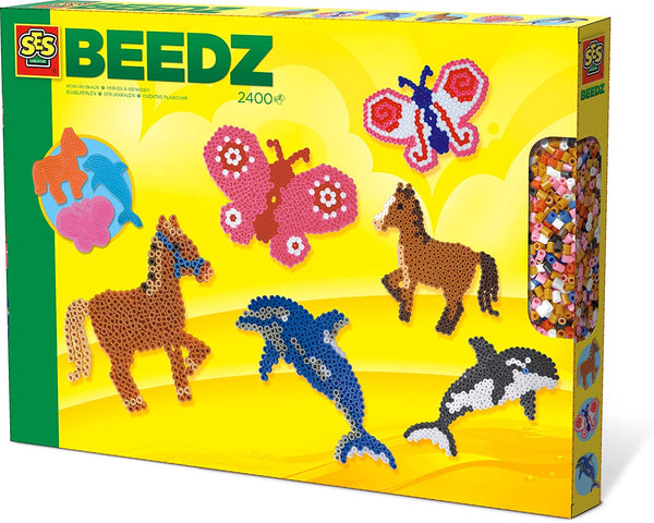 SES, Iron-on beads Animals