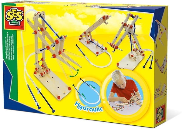 Hydraulic construction set - Ages 6 to 12