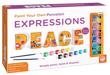 Paint-Your-Own Expressions: PEACE - Ages 8 to 14
