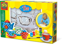Paint your own tea set- Ages 5 to 9