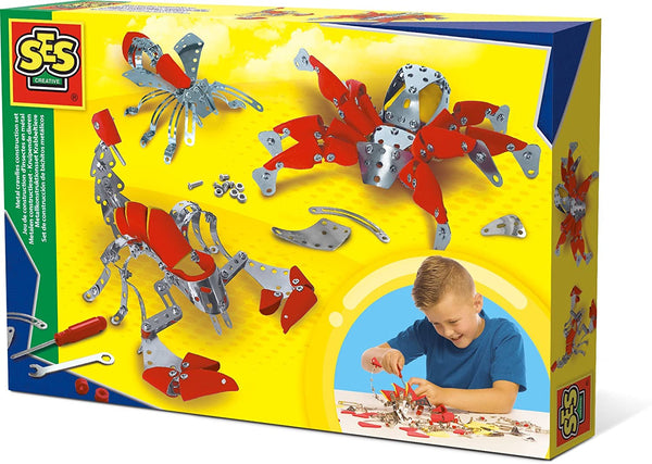 Metal crawlies construction set - Ages 6 to 12