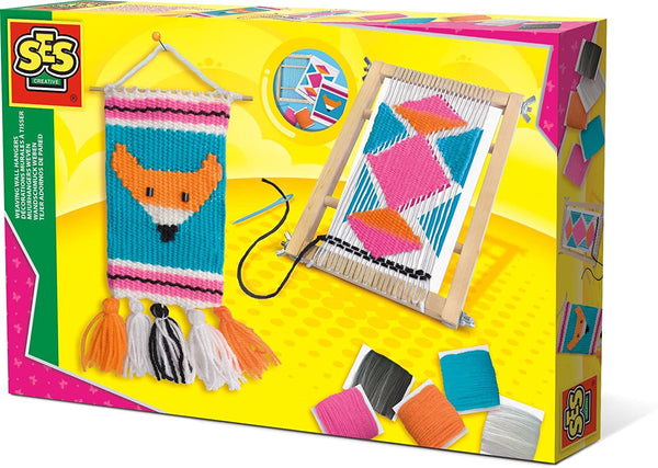 Weaving wall hangers - Ages 5 to 10
