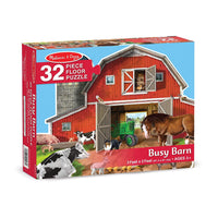 32pc Busy Barn Shaped Floor Puzzle