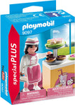 Playmobil 9097 Special Plus Pastry Chef Toy Set, Multi