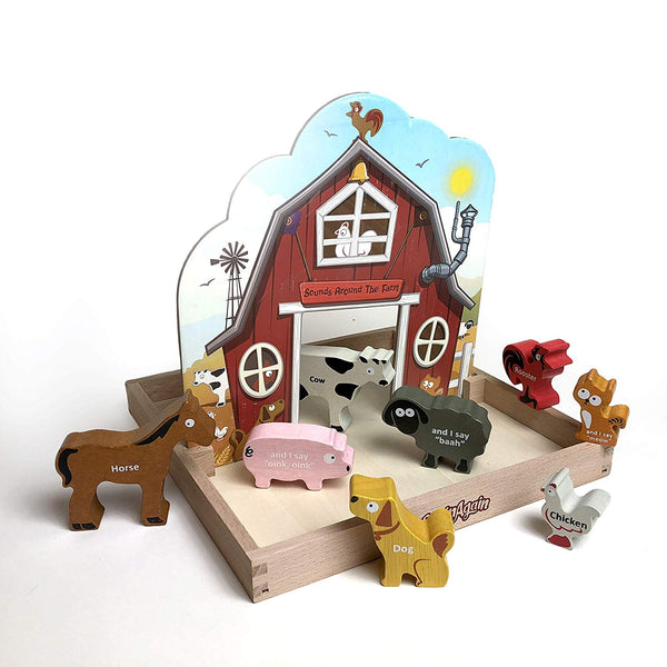 BeginAgain Around The Farm Playset