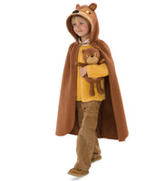 Woodland Forest Animal Cloak - Bear