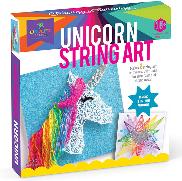 UNICORN STRING ART - Ages 6 to 12