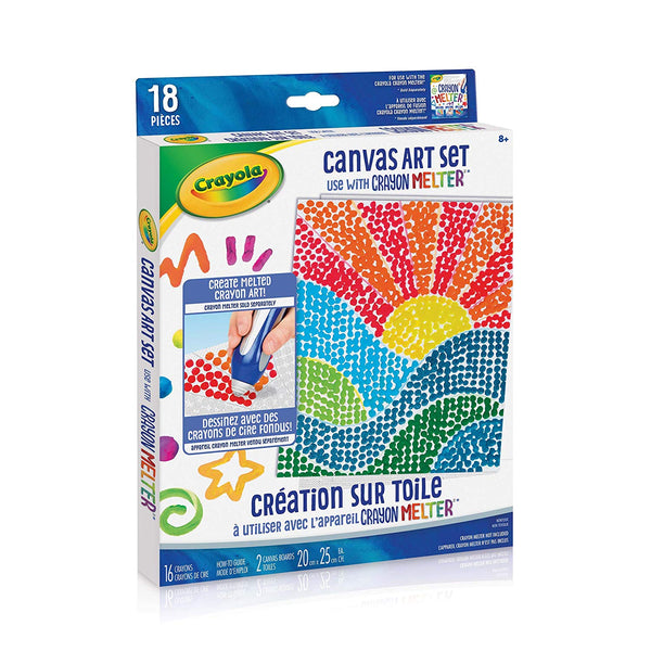 Crayon Melter Accessory Pack Canvas Art Set