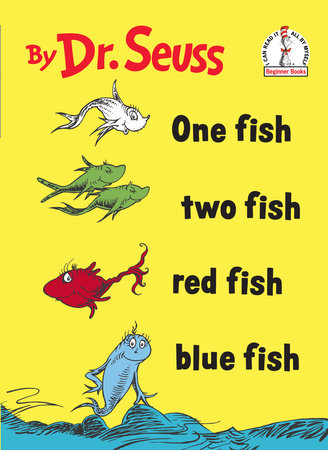 One Fish Two Fish Red Fish Blue Fish 9780394800134