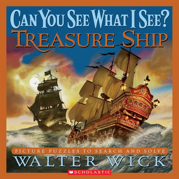Can You See What I See? Treasure Ship (HC)