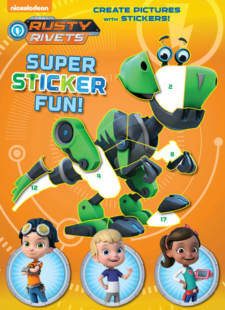 RUSTY RIVETS SUPER STICKER FUN