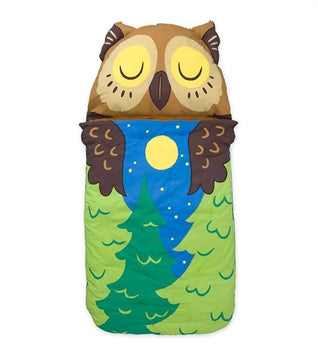 WOODLND SLEEPING BAG - OWL