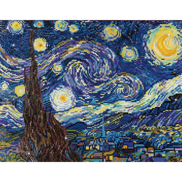 Diamond Dotz Starry Night (Van Gogh)
