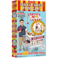 Snacks & Sweets Food Cart ***Subject to large/heavy item ship charge***