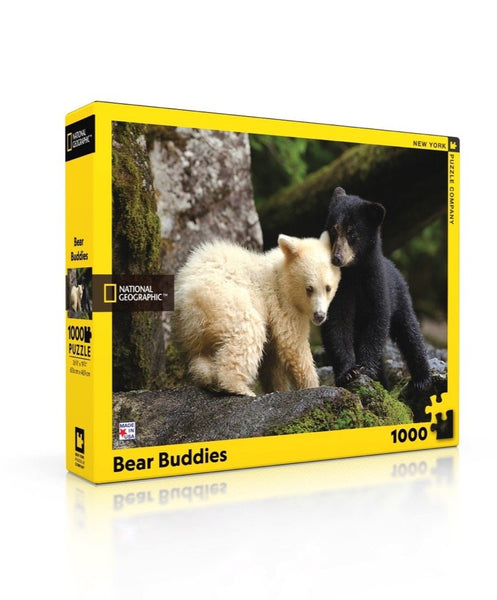 1000pc New York Puzzle Company - National Geographic Bear Buddies
