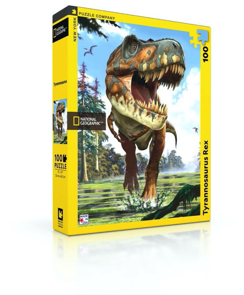 100pc New York Puzzle Company - National Geographic Tyrannosaurus Rex
