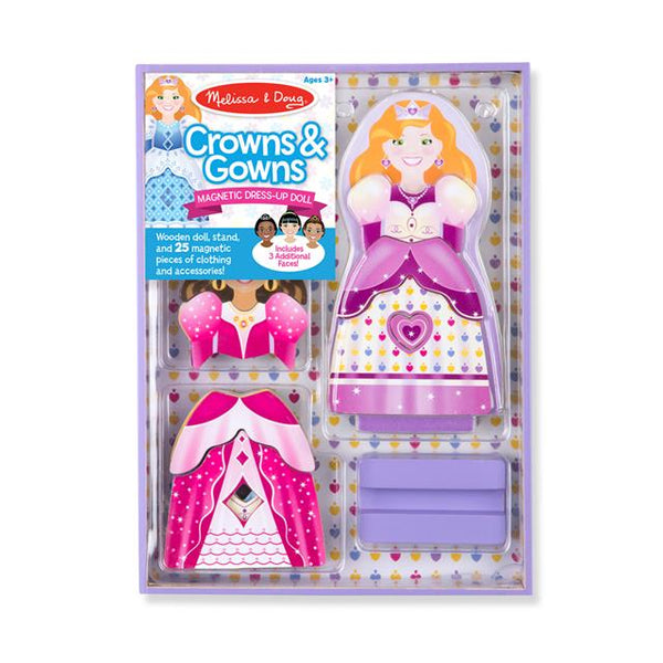 Magnetic Dress-Up - Crowns & Gow
