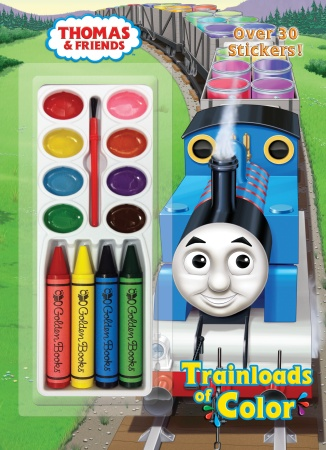 TRAINLOADS OF COLOR