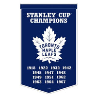 "Toronto Maple Leafs 15"" x 24"" Sublimated Felt Team Banner"