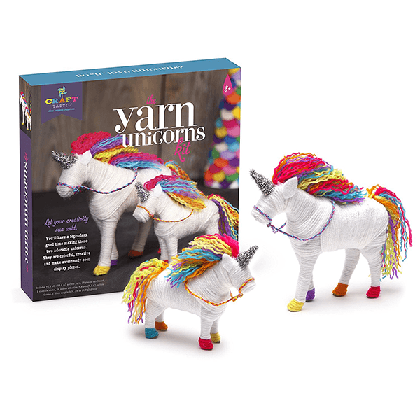 CRAFT-TASTIC YARN UNICORNS KIT - Ages 8 to 14