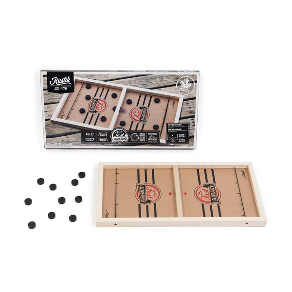 Rustik Fast Sling Puck Game (Regular Version)
